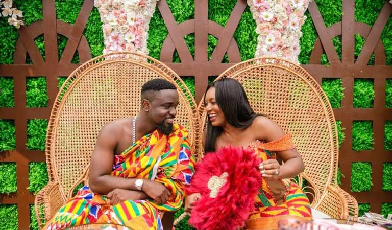 Sold or Not; All The Classic Pictures From Sarkodie's Wedding.