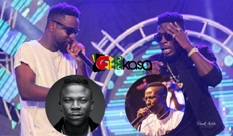 "Shatta Wale calls Patapaa, Sarkodie, Stonebwoy ""Cheap"" for accepting GLO's offer"