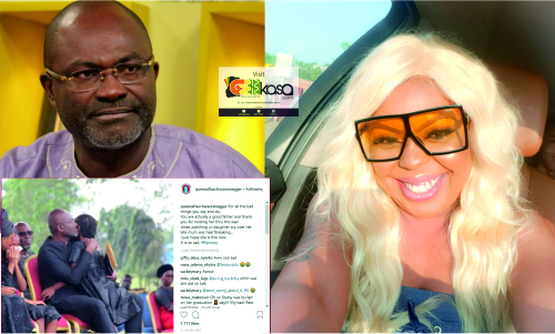You Are A Good Father- Afia Schwarzenegger commends Kennedy Agyapong