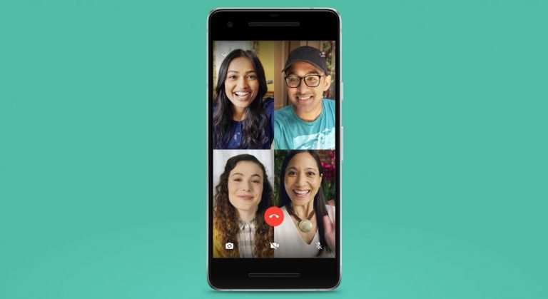 WhatsApp can now do group video calls