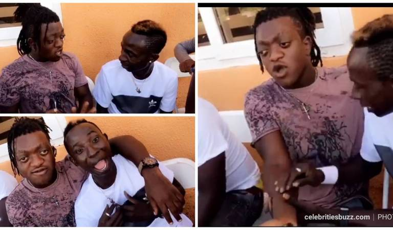 Video: Patapaa and Sunsum fights over who is handsome