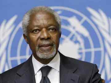 Kofi Annan, Dead, United Nations Secretary-General