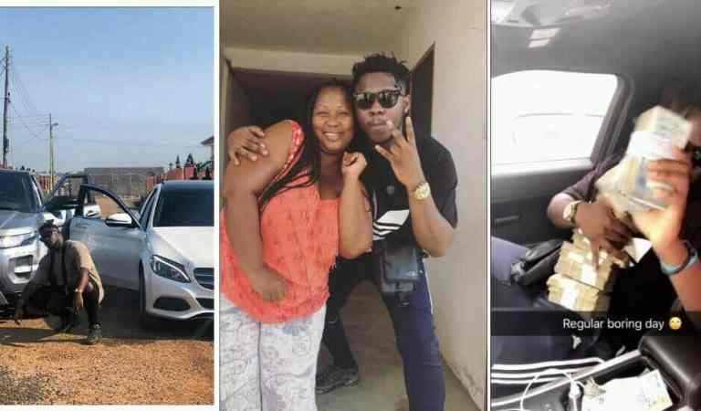 Video: Medikal's mum question his source of money