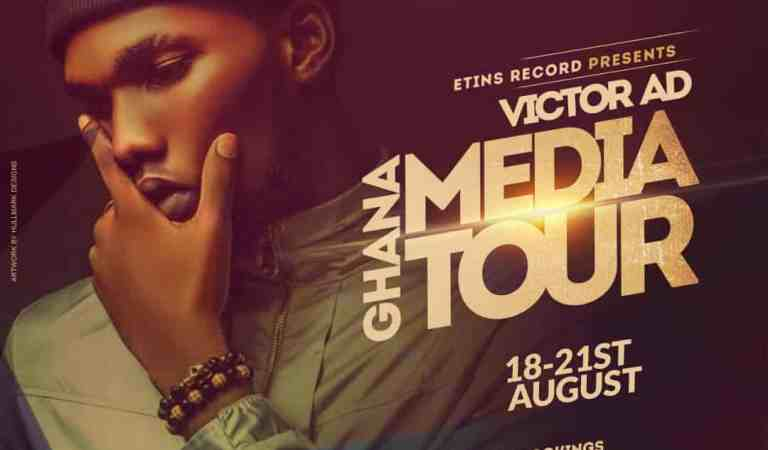 """ Wetin You Gain "" hitmaker Victor AD in Ghana"