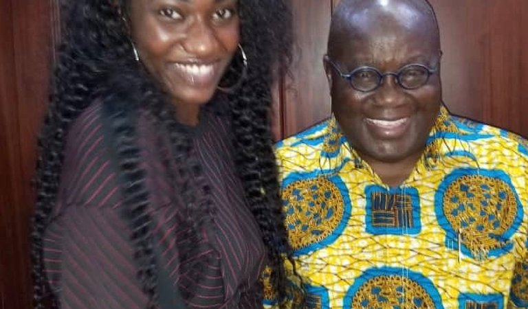 Wendy Shay Disrespects The Presidency, Calls President Nana Addo 'Chief Uber Driver'.