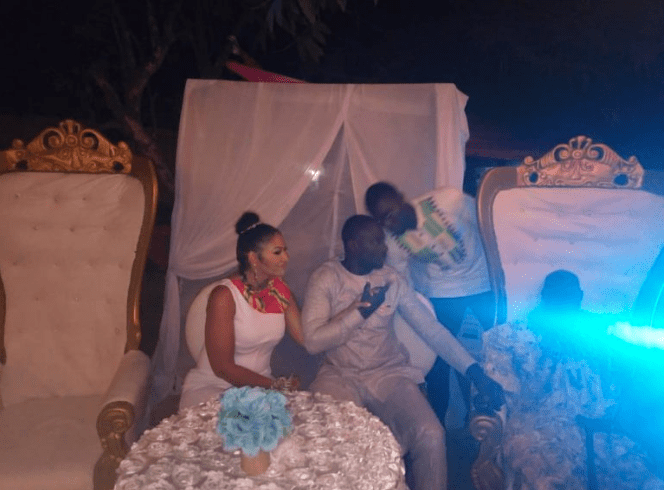 Chris Attoh and His New Wife