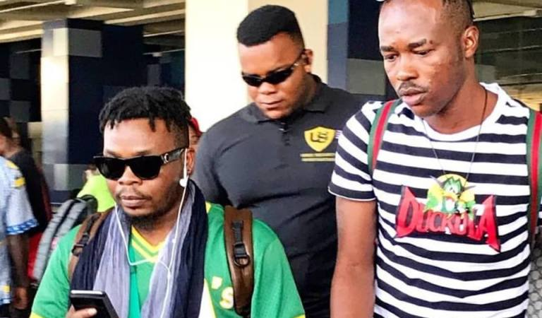 Olamide arrives in Ghana ahead of BF Suma Concert with Shatta Wale tomorrow