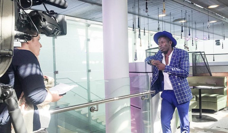 WATCH: Shatta Wale's Dope Freestyle On BBC 1