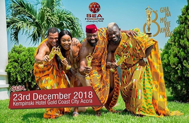 Ghana Movie Awards slated for 23rd December 2018
