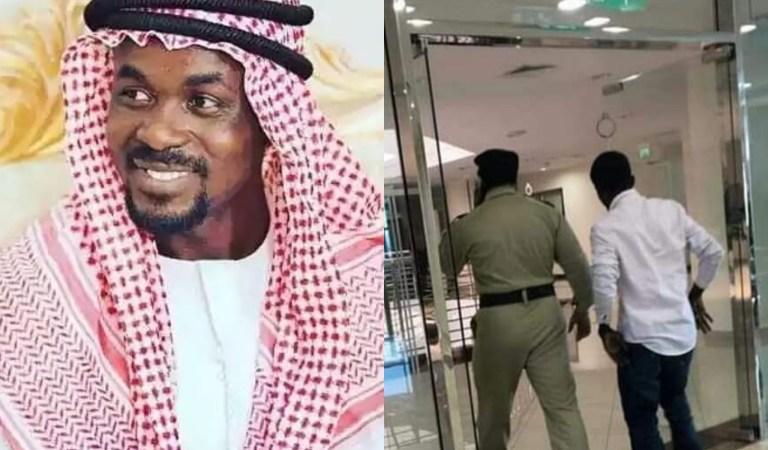 PHOTOS: Menzgold CEO, NAM1 Allegedly In The Custody Of Dubai Police Waiting To Be Deported