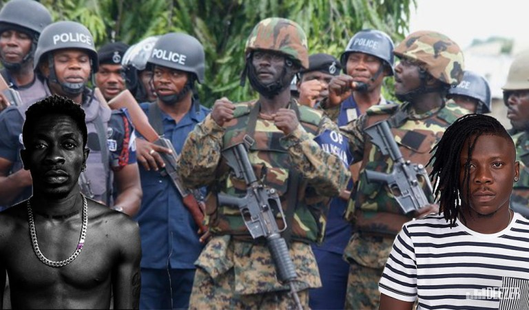 Video: Are the Military for Stonebwoy and Police for Shatta Wale?