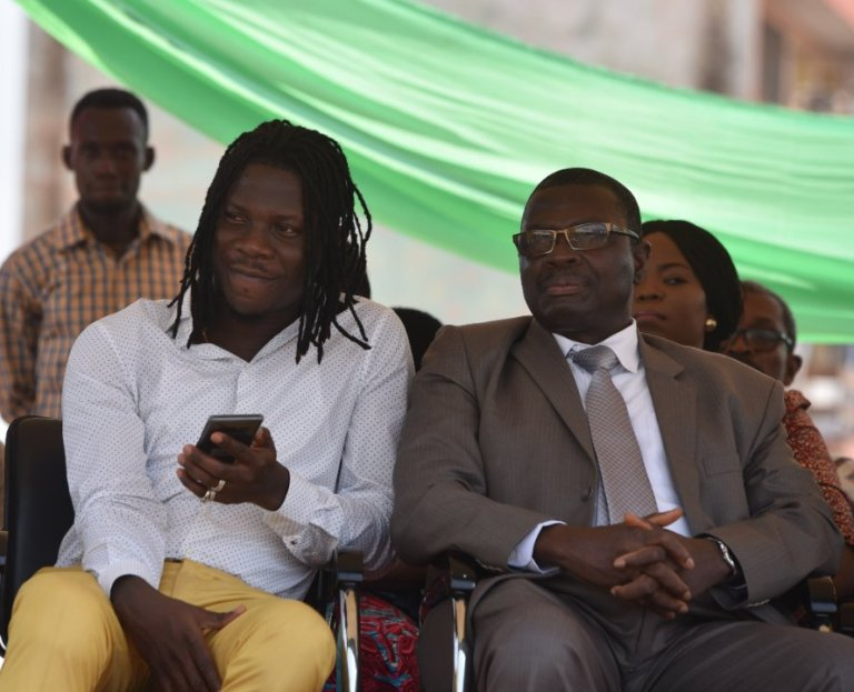 Stonebwoy, Ashaiman Municipal Assembly