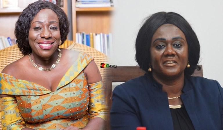 Hon. Catherine Afeku reshuffled and Hon. Barbara Oteng Gyasi takes over