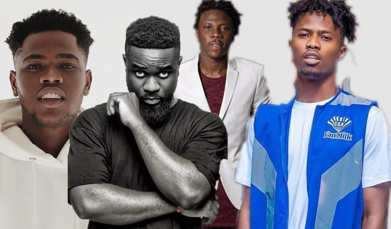 Watch: Kwame Dame rap about religion that got Sarkodie, Stonebwoy, Kwesi Arthur and others applauding him