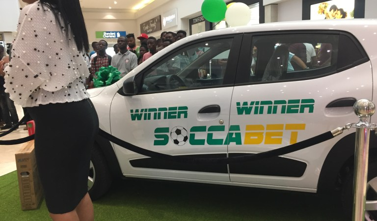 Photos: SoccaBet to give away cars in massive promo from now till December – Read details