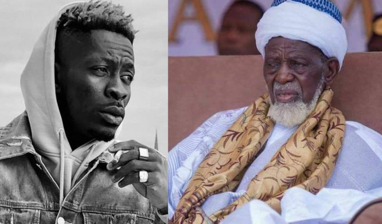 Shatta Wale talks about Chief Imam joining Christians to worship