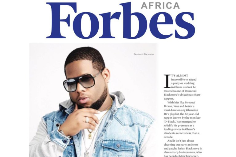 D-Black, Forbes Africa, Forbes Africa magazine