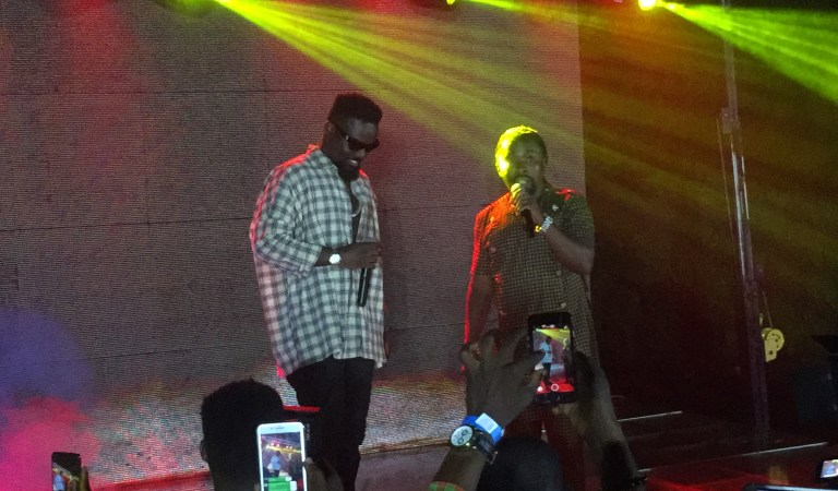 Watch: Sarkodie surprise Obrafour at his Pae Mu Ka at 20 launch