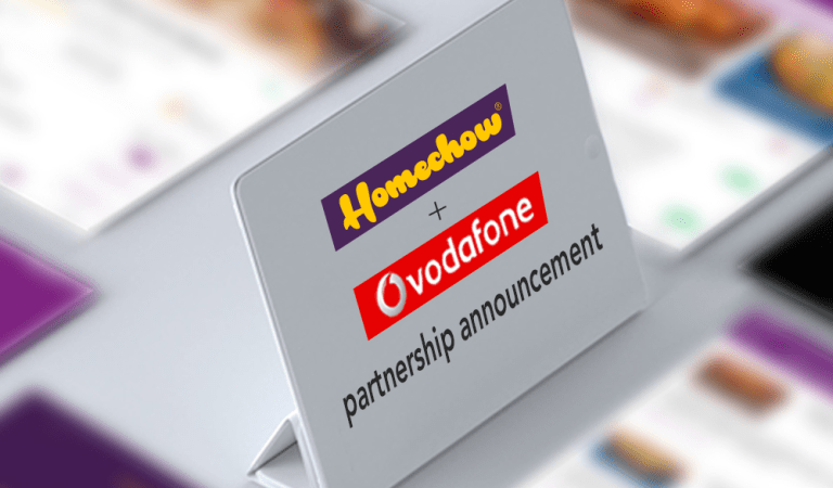 Homechow App and Vodafone Ghana partnership, announced