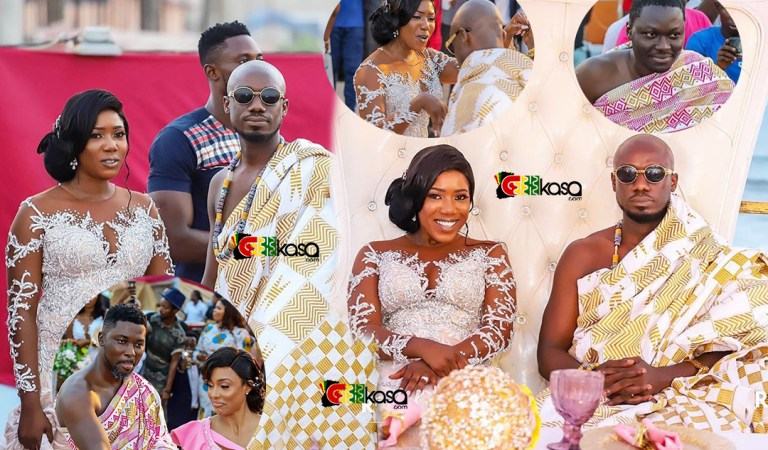Watch: Blogger Eugene Osarfo Nkansah & Actress Victoria Lebene's wedding