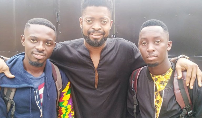 Comedian Khemikal and Waris raise the flag Of Ghana high with excellent performance in Nigeria