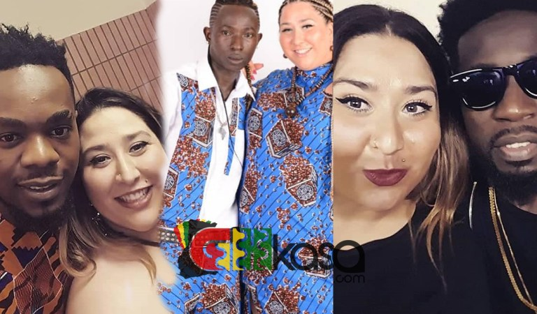 Photos: Did Bisa Kdie and Patoranking hangout with Patapaa's German girlfriend before?