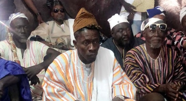 Shatta Wale enskinned as 'Dancehall Naa' by Tamale Chief
