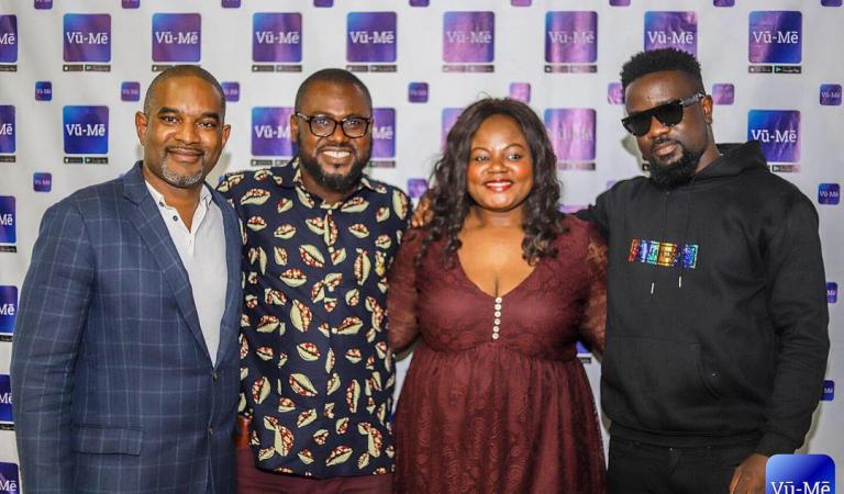 Join Vū-Mē: Sarkodie, Lexis Bill, Bridget Otoo and others interact with Vū-Mē CEO