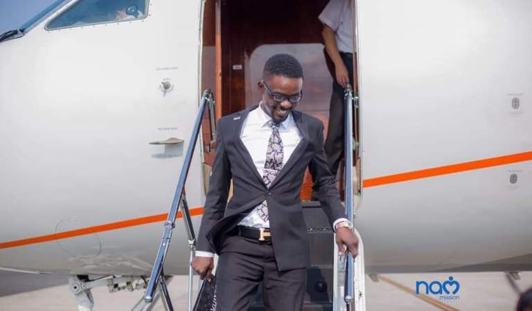 NAM 1 arrives at Terminal 3 of the Kotoka International Airport