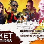 Ghana World Music Festival, Samini, Deborah Cox, Ernie Smith