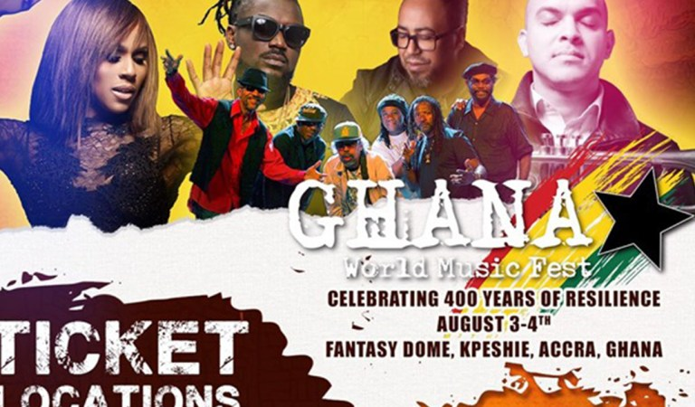 Samini, Deborah Cox, Ernie Smith, others for Ghana World Music Festival Aug. 3-4 at Fantasy Dome