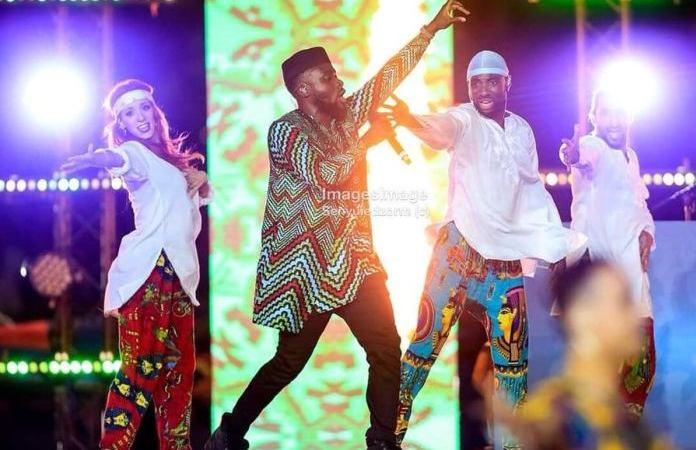 Video: Fuse ODG makes Ghana proud with his performance at AFCON 2019 Closing ceremony