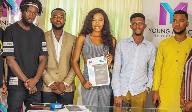 Freda Rhymz signs new 5 years deal with Young Missions Entertainment