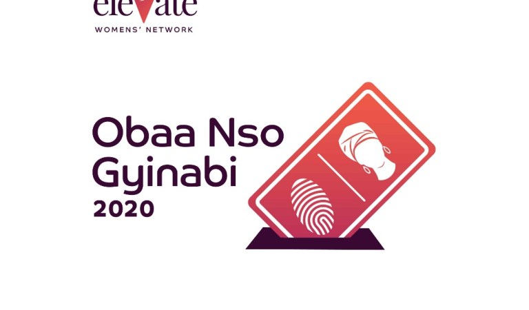 Elevate Womens' Network outdoors ObaaNso Gyina Bi Logo on social media
