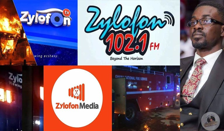 No human fatalities or casualties – Zylofon Media releases statement after fire gutted their building