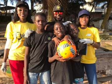 Araba Sey, Ghana Beach Soccer Sanitation