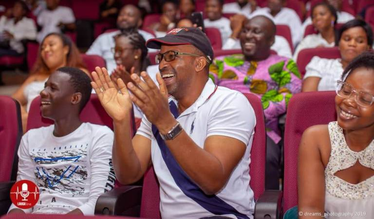 Lekzy Decomic, DKB, Jerry and others entertain patrons at LaughLine