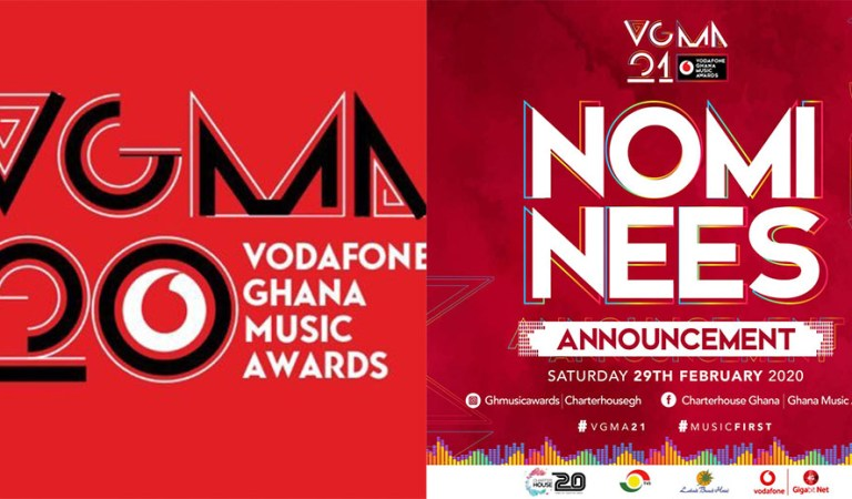 The Big Announcement –  Nominees of the 2020 Vodafone Ghana Music Awards