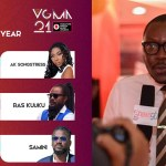 Arnold Asamoah Baidoo, Reggae/Dancehall Act Of The Year Category, Vodafone Ghana Music Awards