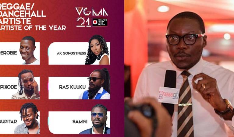 Reggae/Dancehall Act Of The Year Category Is Weak – Arnold Asamoah Baidoo Fires