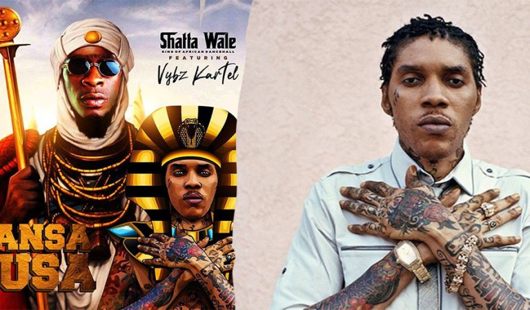 Download: Shatta Wale release song with Vybz Kartel