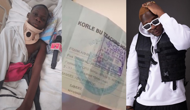 Medikal Proves With Reports He Didn't Abandoned Sick Fan