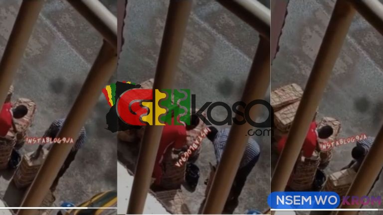 Shocking!!! Delivery Men Captured Stealing From Customers' Packages