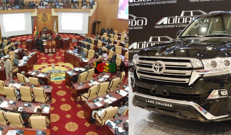Govt secures Ghc165.2million loan to buy V8s for all 275 MPs