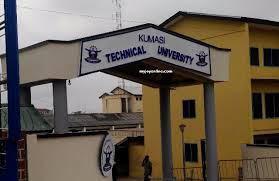 Kumasi Technical University admission letter