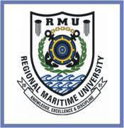 Regional Maritime University Admission List