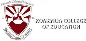 Komenda College of Education Admission Requirements 2021/2022.