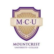 Mountcrest University College admission form