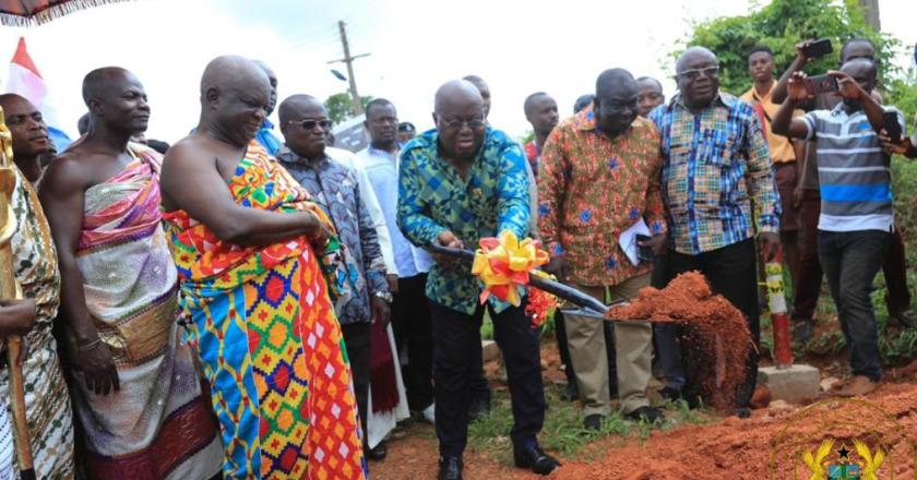 """44-year-old Kath Maternity and Children's block will be completed in 36 months-President Akufo-Addo"