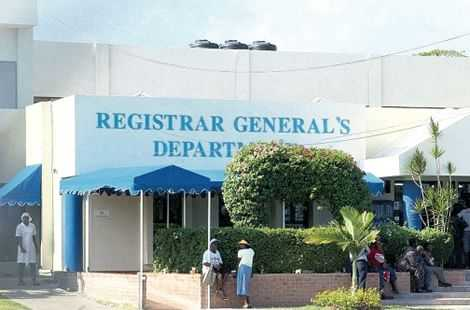 Registrar-General cautions prospective clients against middlemen